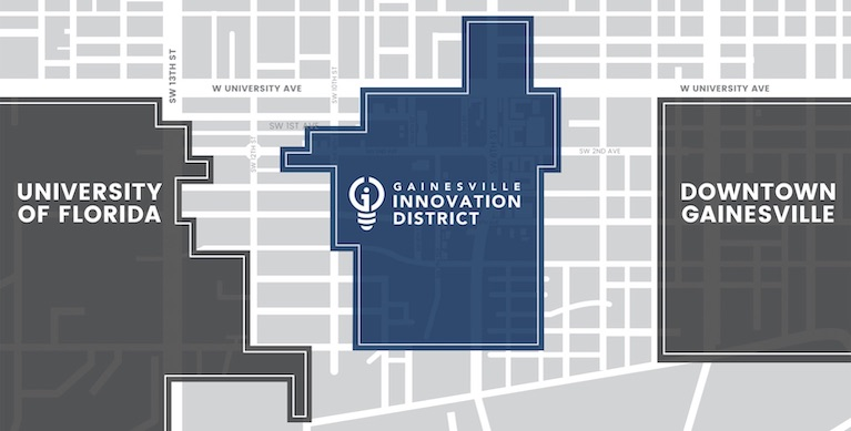 Innovation District location in Gainesville, FL